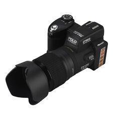 POLO D7200 33MP 1080P HD Digital Camera DSLR +3 Lens 4032 x 3024 Wide Angel Lens