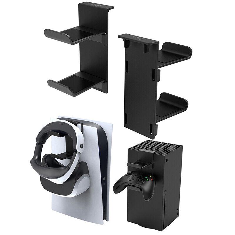Headset Holder Headphone Stand Gamepad & Earphone Hanger Bracket For PS5 / Xbox+
