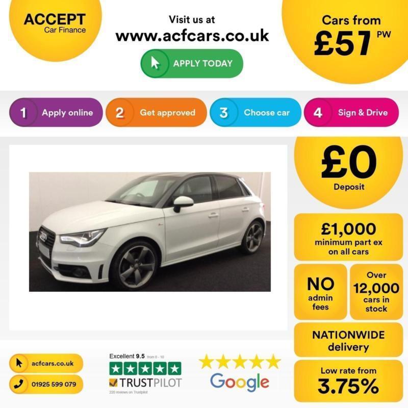 Audi A1 2.0TDI ( 143ps ) Sportback 2014MY Black Edition FROM £57 PER WEEK !