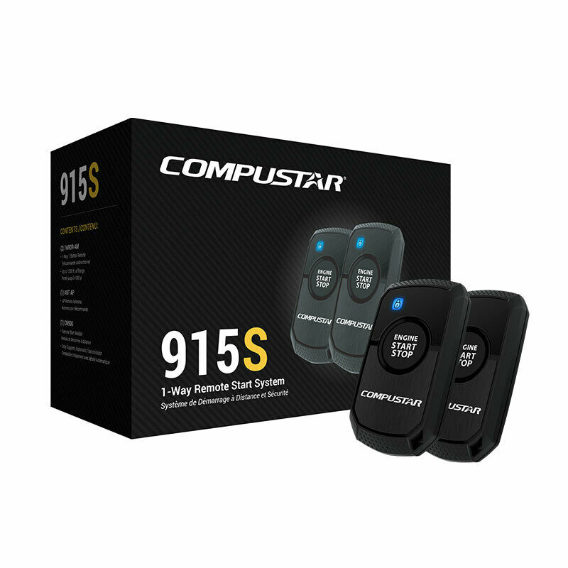 Compustar CS915-S 1-Button Remote Auto Car Start 1500ft Range (Replaced CS910-S)