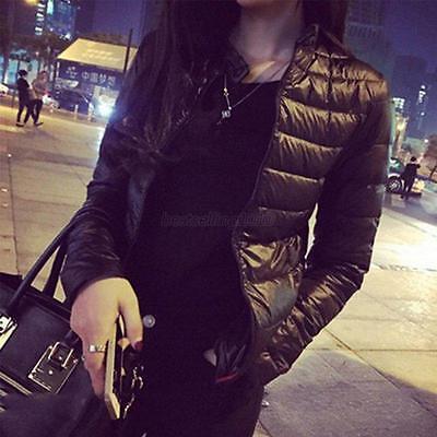 Us Fashion Womens Hooded Jacket Slim Parka Coat Overcoat Warm Winter Outwear