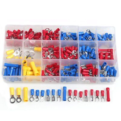 300pcs Wire Crimp Terminals Insulated Terminator Butt Connectors Terminales Set