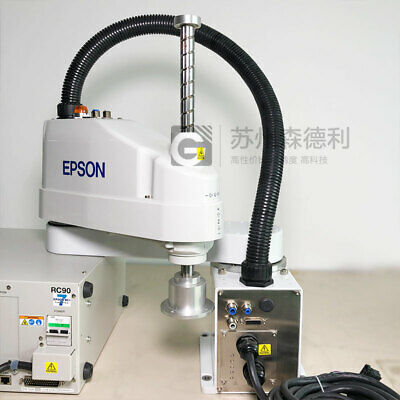 Used Epson Scara Robot 600mm Max 6kg Ls6-602s W Rc90 Controller