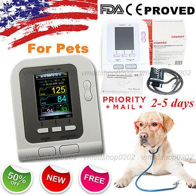 2018 Digital Veterinary Blood Pressure Monitor Nibp Cuffdogcatpetsus Seller