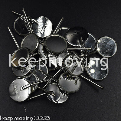 50x Dental Orthodontic Stainless Steel Mouth Mirrors Reflector High Quality 4