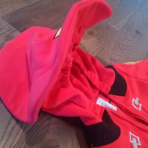 ADORABLE FLEECE FIREMAN OUTFIT / COSTUME - New Condition, 6-9M Cambridge Kitchener Area image 5