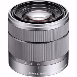 Sony 18-55mm f/3.5-5.6 OSS E Mount Silver - near mint