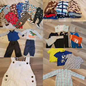 Boys clothing lot size 18month and 18-24months