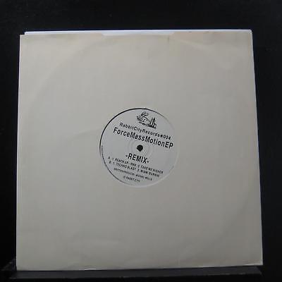 Force Mass Motion Ep  Remix  12  Mint   004 Uk 1992 Vinyl Record
