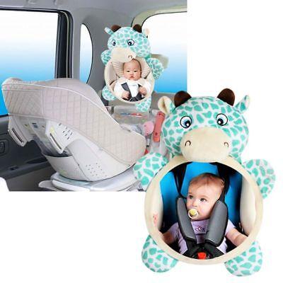 शिशु शिशु किड्स वार्ड सुरक्षा दृश्य के लिए यूएस बेबी मिरर कार बैक सीट कवर