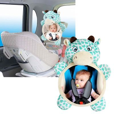 US Baby Mirror Car Back Seat Cover for Infant Child Kids Rea