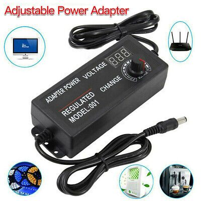 3v-24v Voltage Variable Adjustable Acdc Power Supply Adapter With Led Display