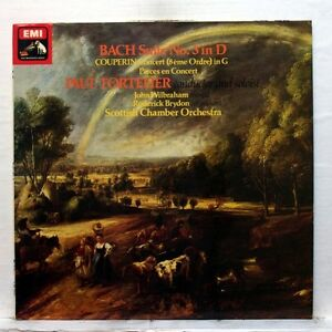 "ASD 3321 - PAUL TORTELIER - BACH suite COUPERIN pieces en concert EMI LP EX - France - Commentaires du vendeur : ""See full description below"" - France"