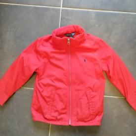 Boys Red Ralph Lauren lightweight jacket