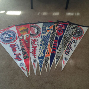 Various Sports flags (banners)