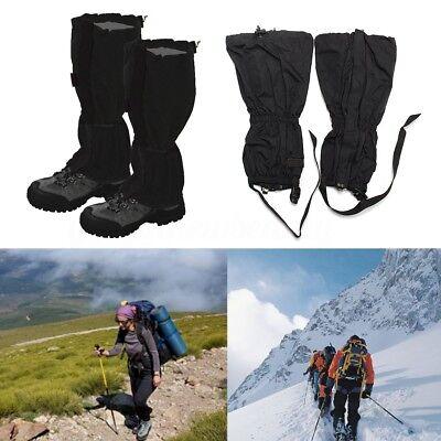 1 Coppia Ghette Legging Gamba Impermeabili Per Sportiva Trekking Alpinismo