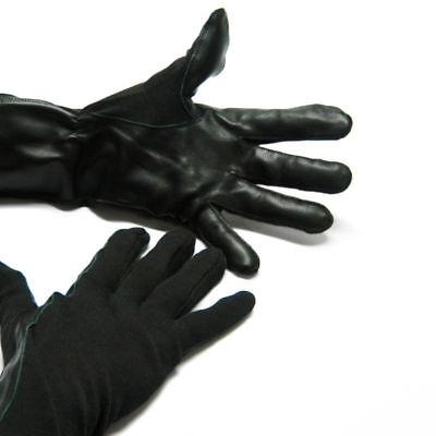 New Pair Womens Black Flight Gloves Nomex Mil-spec Fire Resistant Aviator Pilots