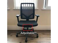 Fully Adjustable Ergonomic Work Chair in High-back Mesh - Allsteel Relate