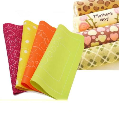 Kitchen Non-stick Silicone Mats Liners Rolling Mat Pad Dough Pastry Baking T8K1