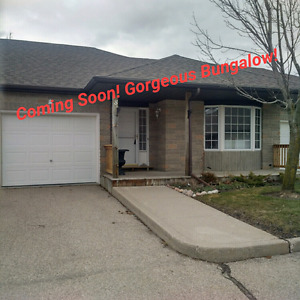 Coming Soon! Gorgeous Bungalow Townhouse!