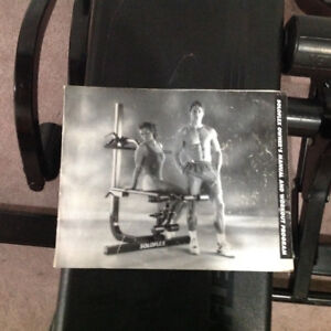 SOLOFLEX MUSCLE MACHINE FOR SALE