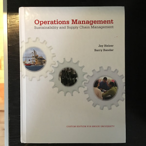 Operations Management Textbook (BROCK UNIVERSITY - OPER 2P91)