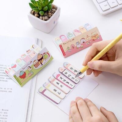 Kawaii Stationery Memo Pad Bookmark Creative Cute Animal Sticky Notes Sticker