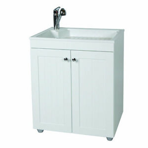 NEW GLACIER BAY ALL IN ONE LAUNDRY SINK CABINET