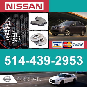 Nissan Rogue ■  Freins et Disques ► Brakes and Rotors