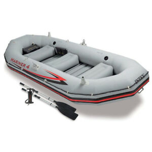 Inflatable Boat Set (4-Person)