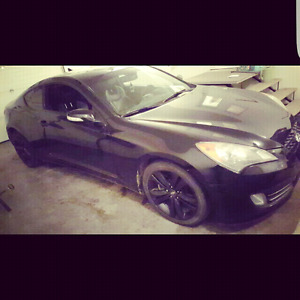 Genesis Coupe Shell
