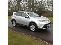 Toyota RAV4 2.2D-4D ( 150bhp ) ( AWD ) 2013MY Icon Silver Manual 13 plate
