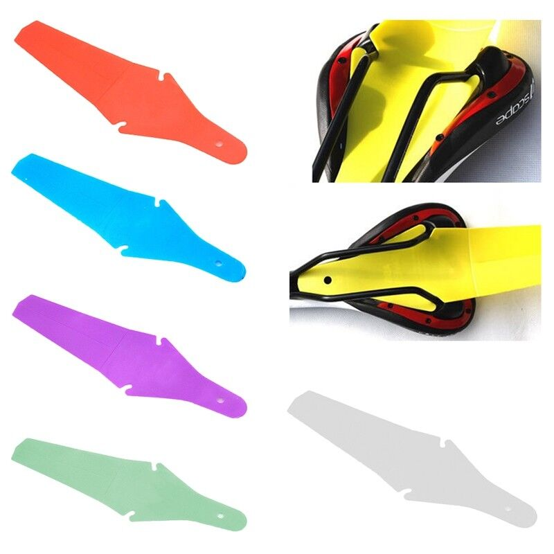 Bicycle Extended Rear Ass Fender Clip on Mudguards Road /& Mtb Rain Saver A6V8