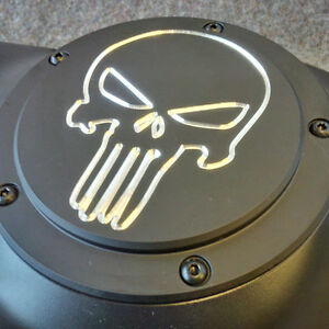 Custom Harley Davidson  Derby Cover - Skull Contrast St. John's Newfoundland image 2