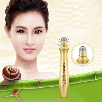 Creme-serum Augen - (15ML Schnecke Essenz Augencreme Serum Antifalten Anti-aging Hyaluron Hautpflege)