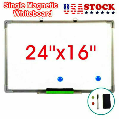24x16 Dry Erase Whiteboard Magnetic Whiteboard Office Learning Writing Board