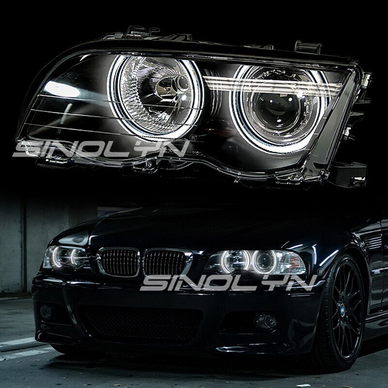 Dtm Crystal Led Angel Eyes For Bmw 3 Series E46 Hid Xenon