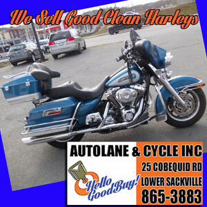 2006 Harley Davidson Electra Glide Classic SHARP BIKE Two Tone