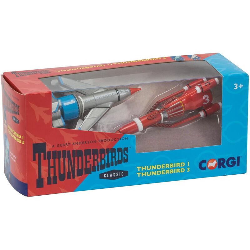 Corgi Thunderbirds Classic Thunderbird 1 & Thunderbird 3 Diecast Metal Model Set