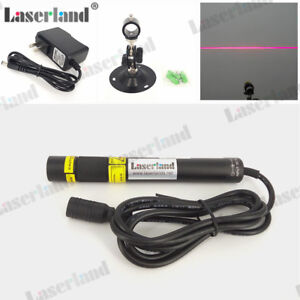 16120 Focusable 650nm 100mW Red LINE Generator Laser Diode Module Wood Stone