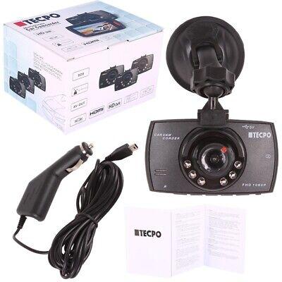 TECPO DASHCAM FULL HD 2.7 TFT Autokamera mit Nachtsicht Funktion Carcam 1080PX - Auto-kamera