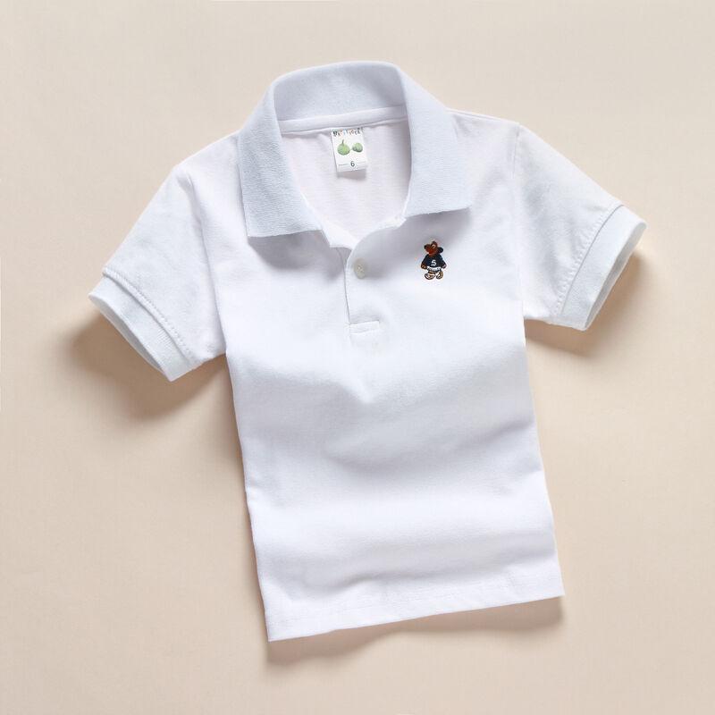 Fashion 100/% Cotton T shirt Children/'s clothes Kids clothes  sh 2-13 Y 4 colors