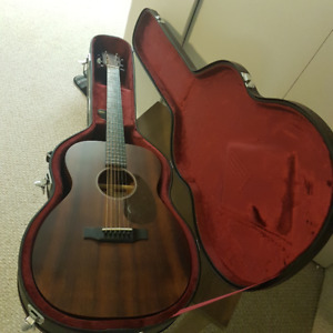 Sigma 000M-15+ Acoustic Guitar and hardshell case