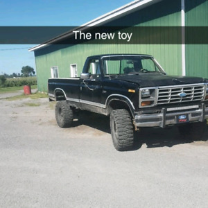 1986 Ford F-150 4 speed