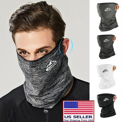 3 Pack 18 Pieces Face Scarf Sun Shield Neck Gaiter Balaclaca Neckerchief Bandana