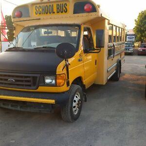 2005 mini school bus diesel low k $2400