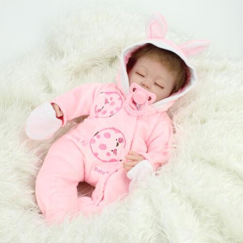 Handmade Reborn Baby Dolls Real Life Soft Vinyl Silicone Baby Doll Girls Gift