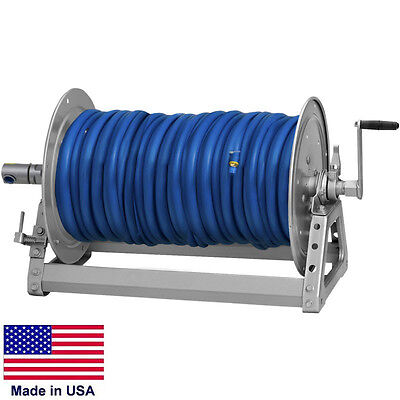 Pressure Washer Sprayer Manual Hose Reel - 500 Ft 38 Or 375 Ft 12 Id Hose