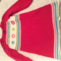 Gymboree Sweater Dress and Tights