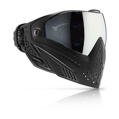 New Dye I5 Thermal Paintball Goggle Goggles Mask - Onyx - Black / (Grey Thermal Paintball)